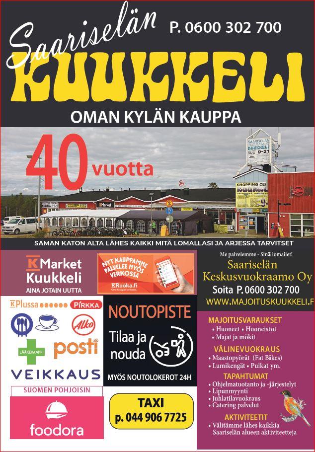 Saariselän Kuukkeli 40v - lehti